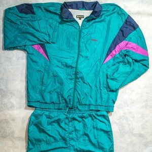 Vintage 90's Dreimar Windbreaker & Pants Full Set